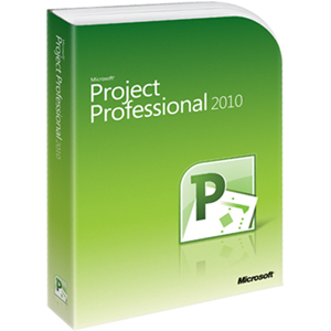 Microsoft Project 2010 Professional Retail Box