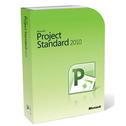 Microsoft Project 2010 Standard Retail Box