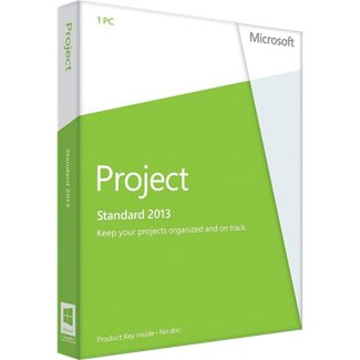 Microsoft Project 2013 Standard Product Key Card Retail Box