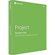 Microsoft Project 2016 Standard PKC Retail Box - ON SALE