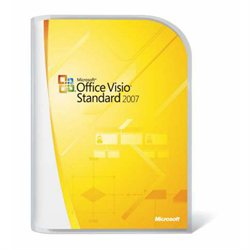 Microsoft Visio 2007 Standard Retail CD & Key