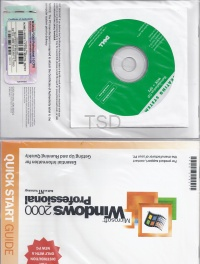 Microsoft Windows 2000 Professional SP2 OEM (Branded)
