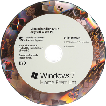 Microsoft Windows 7 Home Premium SP1 64-bit OEM - ON SALE