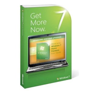 Microsoft Windows 7 Home Premium Upgrade From Starter Retail Box