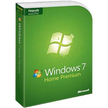 Microsoft Windows 7 Home Premium Upgrade Retail Box