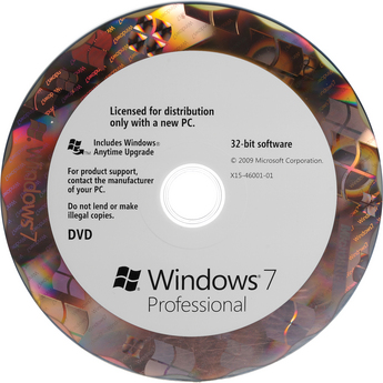 Microsoft Windows 7 Professional SP1 32-bit OEM - ON SALE