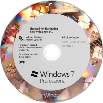 Microsoft Windows 7 Professional SP1 64-bit OEM - ON SALE
