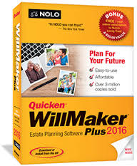 Nolo Quicken WillMaker Plus 2016 Retail Box