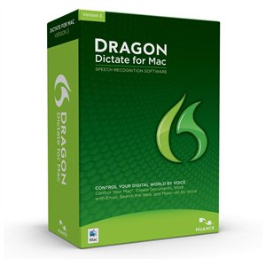 Nuance Dragon Dictate Mac 3.0 Retail Box - ON SALE