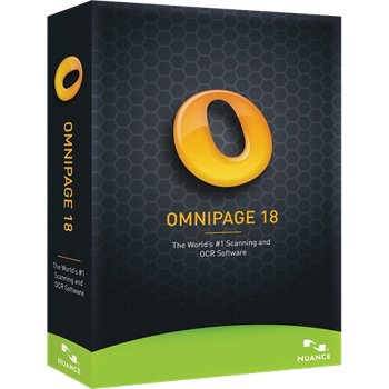 Nuance Omnipage 18 Retail Box