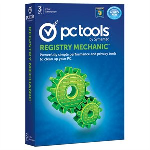 PC Tools Registry Mechanic 2012 (3PC) Retail Box
