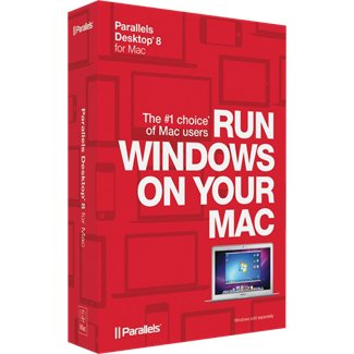 Parallels Desktop 8 for Mac Retail Box