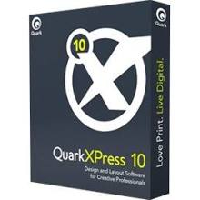 QuarkXPress 10 Full Single User Mac/Win Box