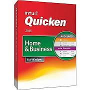 Intuit Quicken Home & Business 2015 Retail Box - ON SALE