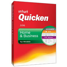 Intuit Quicken Home & Business 2016 Retail Box