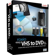Roxio Easy VHS to DVD For MAC Retail Box