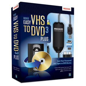 Roxio Easy VHS to DVD 3 Plus Retail Box