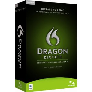 Nuance Dragon Dictate for Mac 2.0 Retail Box (Includes Headset)