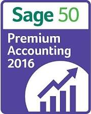 Sage 50 Premium Accounting 2016 Retail Box