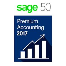 Sage 50 Premium Accounting 2017 5-Users Retail Box