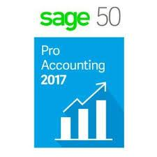 Sage 50 Pro Accounting 2017 Retail Box