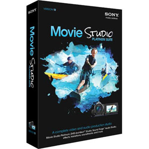 Sony Vegas Movie Studio Platinum Suite 12 Retail Box