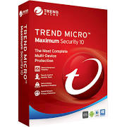 Trend Micro Maximum Security 10 (1YR, 3 PC/Mac) Download
