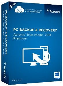 Acronis True Image 2014 Premium 3 License Retail Box