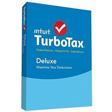 Intuit TurboTax Deluxe Federal + State + Efile 2015 (PC/Mac) Retail Box