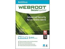 Webroot SecureAnywhere AntiVirus (1 YR, 1 Device) Download