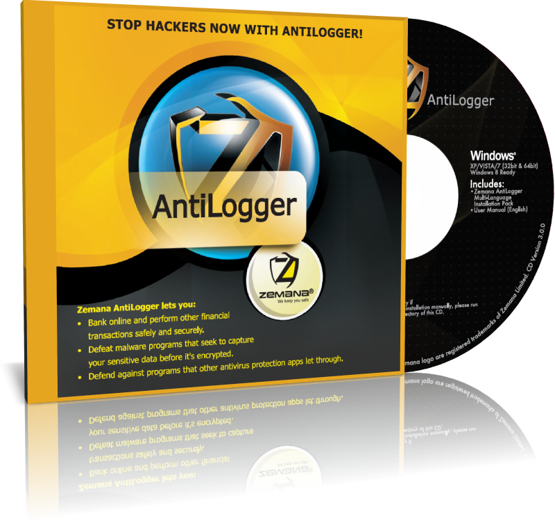 Zemana AntiLogger (1 User, 1 YR) Retail Pack